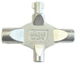 LIDOKOV 01.191 Klíč LK6 k rozvaděči víceúčelový kříž