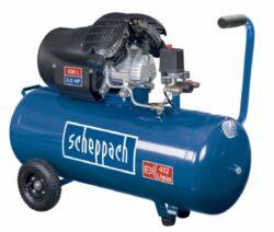 SCHEPPACH HC 100 DC Kompresor olejový 100L 1100W 1,5PS 412L/min 8b-Kompresor olejový 100L 1100W 1,5PS 412L/min 8bar