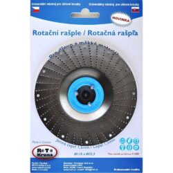 MAGG ROTO12515 Rotační rašple jemná 125x22,2x1,5mm pro úhlové brusky-Rotační rašple jemná 125x22,2x1,5mm pro úhlové brusky