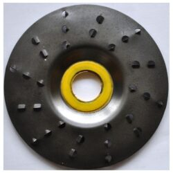 MAGG ROTO1256A Rotační rašple extra hrubá 125x22,2x6,0mm pro úhlové brusky-Rotační rašple extra hrubá 125x22,2x6,0mm pro úhlové brusky