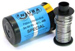 NUBA Sn 60 Pb - MTL 408 Cín pájecí Sn 60 Pb - 25g D1,0mm MAGG P2/25-Cín pájecí Sn 60 Pb - 25g D1,0mm