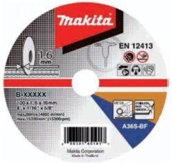Kotouč řezný kov 115X1,6X22,23 MAKITA B-45755