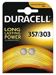 DURACELL 303/357 Baterie silver oxide (SR44) 1,5V 2ks blistr