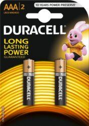 DURACELL LR03/2 AAA Baterie ALKALINE Basic (2ks/bal)