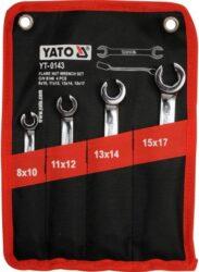 YATO YT-0143 Sada klíčů 4dílná na převlečné matice-Sada klíčů 4dílná na převlečné matice