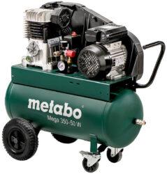 METABO 601589000 Kompresor olejový Mega 350-50 W 230V-Kompresor olejový Mega 10bar 220l/min 230V