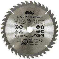 MAGG 9318540 Pilový kotouč HOBBY SK 185x2,5x20 40z-Pilový kotouč HOBBY SK 185x2,5x20 40z