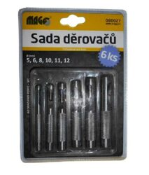 MAGG 080027 Sada výsečníků (5,6,8,10,11,12mm)-Sada výsečníků (5,6,8,10,11,12mm)