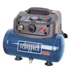 SCHEPPACH HC 06 Kompresor bezolejový 6L 1200W 192L/min 8bar-Kompresor bezolejový 6L 1200W 192L/min 8bar