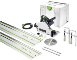 FESTOOL 575961 Pila ponorná 160mm 1200W TS 55 CAMP-Set - Pila ponorná 160mm 1200W TS 55 CAMP-Set