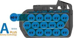 NAREX 65405317 Akušroubovák příklepový 60V 2x3,0Ah ASP 620-2B TL BRUSHLESS(7914271)