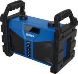 NAREX 65405613 Rádio na stavbu s powerbankou BT 02 (FM, AUX, USB, Bluetooth)-Rádio na stavbu s powerbankou