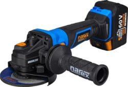 NAREX 65405682 Aku bruska úhlová 125mm 60V 2x3,0Ah ABU 125-620 B TL-Aku úhlová bruska 125mm 60V 2x3,0Ah 1000W T-Loc